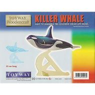 Killer Whale - Pre-Coloured Woodencraft Kit