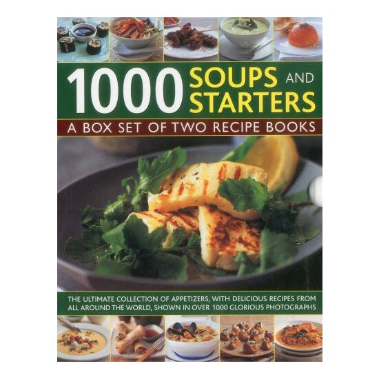 1000 SOUPS & STARTERS