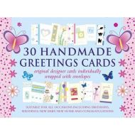 30 HANDMADE GREETINGS CARDS