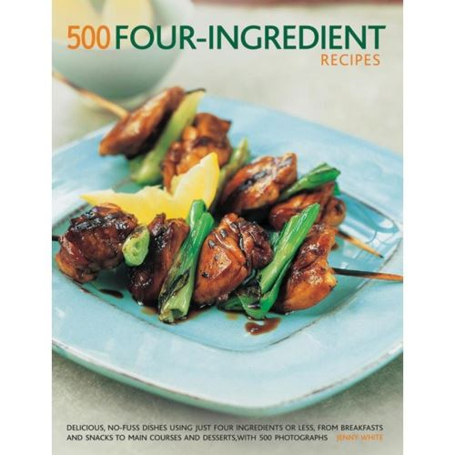 500 FOUR-INGREDIENTS RECIPES