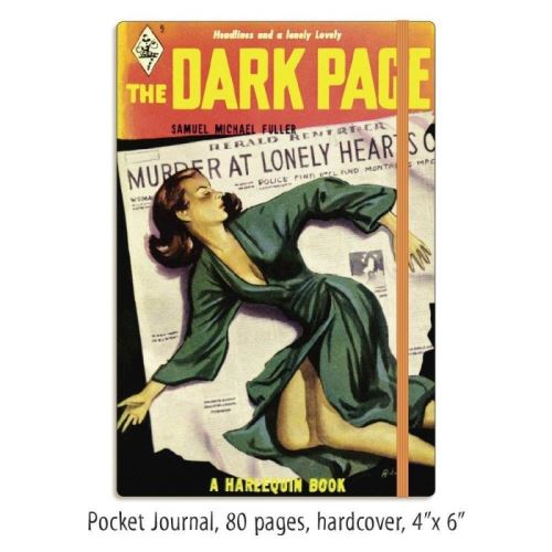 Harlequin Notables Dark Page Perfect Pocket Journals