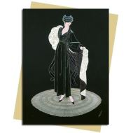 Winter in Paris (Erté) Greeting Card