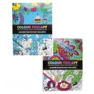 Colour Therapy - The anti-stress adult colouring books