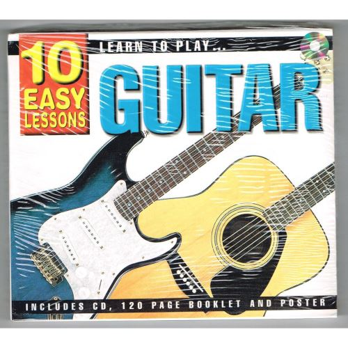 10 Easy Lessons- Learn To Play Guitar CD Size