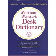 MERRIAM-WEBSTER'S DESK DICT