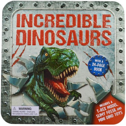 INCREDIBLE DINOSAURS ACTIVITY TIN