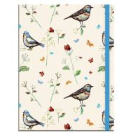 Birdsong A5 Notebook with Elastic