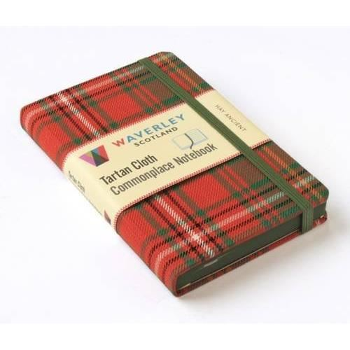 Hay Ancient: Waverley Genuine Scottish Tartan Notebook Hardcover