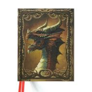 Blank Sketch Book: Red Dragon