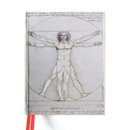 Blank Sketch Book: Vitruvian Man