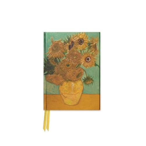 Foiled Pocket Journal: Sunflowers (van gogh) (Flame Tree Notebooks)