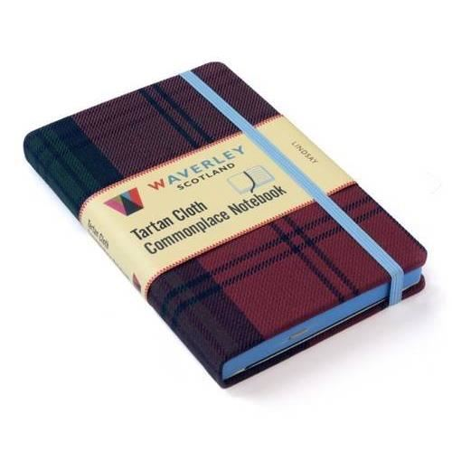 Produs: Lindsay: Waverley Genuine Tartan Cloth Commonplace Notebook