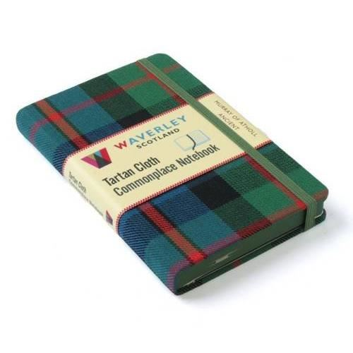 Produs: Murray of Atholl Ancient: Waverley Genuine Tartan Cloth Commonplace Notebook