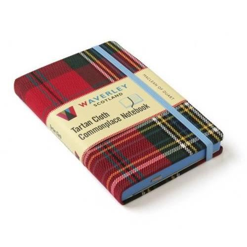 Produs: MacLean of Duart: Waverley Genuine Tartan Cloth Commonplace Notebook