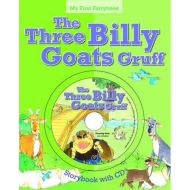 My First Fairytales Book and CD: The Three Billy Goats Gruff