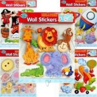 WALL STICKERS SUITABLE FOR BEDROOMS, PLAYROOMS & FURNITURE