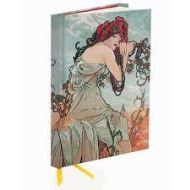 MUCHA - SUMMER  (Flame Tree Notebooks)