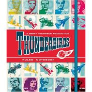 COMIC THUNDERBIRDS FACES NOTEBOOK