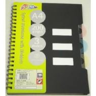 A4 SOLO TAB NOTE BOOK
