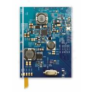 CIRCUIT BOARD BLUE (Flame Tree Notebooks)