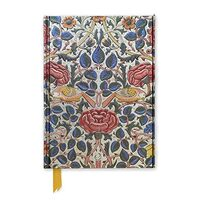 Rose by William Morris (Foiled Journal) (Flame Tree Notebooks)