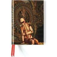 Steampunk Mannequin (Foiled Journal) (Flame Tree Notebooks)