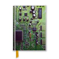 CIRCUIT BOARD GREEN (Flame Tree Notebooks)