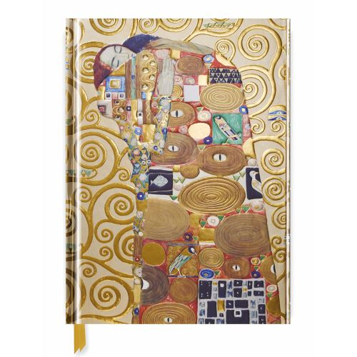 GUSTAV KLIMT: FULFILLMENT (BLANK SKETCH BOOK) (Flame Tree Notebooks)