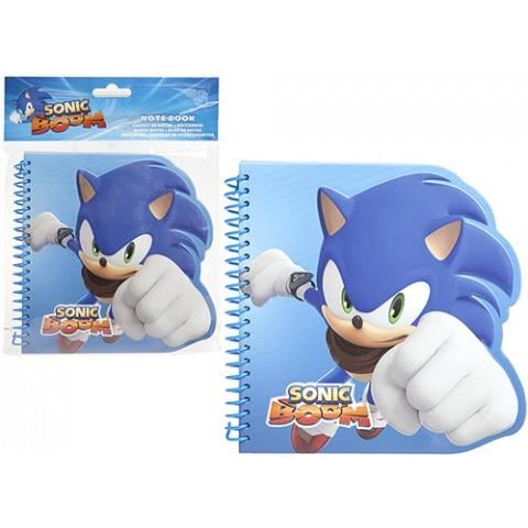 SONIC BOOM DIE CUT NOTEBOOK