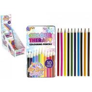 10 PIECE UNICORN COLOURING PENCILS