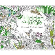 HIDDEN IN THE JUNGLE 12 NOTECARDS