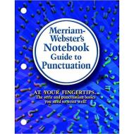 MERRIAM-WEBSTER`S NOTEBOOK GUIDE TO PUNCTUATION