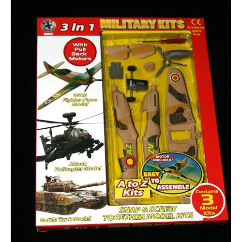 3 IN 1 ARMY TANK KITS