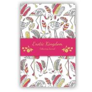 FLAMINGOES ADULT COLOURING JOURNAL