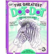 DOT TO DOT: CHALLENGE BOOK - ZEBRA