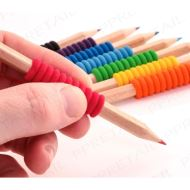 8 SOFT GRIP COLOURING PENCILS