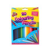 20 FULL SIZE COLOUR PENCILS