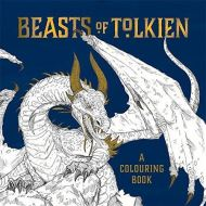 Beasts of Tolkien: A Colouring Book by Mauro Mazzara