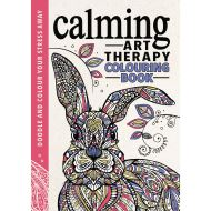 CALMING ART THERAPY COLOURING