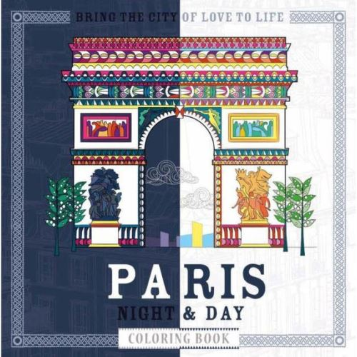 PARIS NIGHT & DAY COLOURING