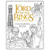 LORD OF THE RING MOVIE TRILOGY: COLOURING