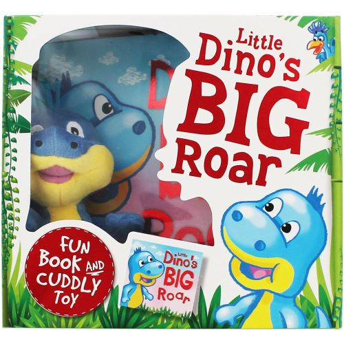 LITTLE DINO'S BIG ROAR (BOOK AND PLUSH TOY)