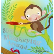 PADDED BOOKS - STOP MONKEYING AROUND