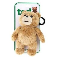 TED PLUSH BACKPACK CLIPS