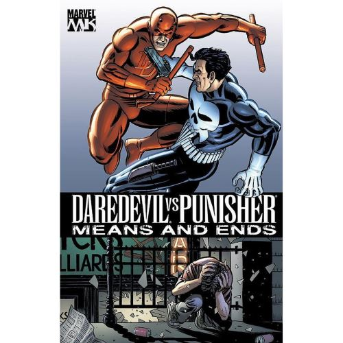 DAREDEVIL VS. PUNISHER: MEANS & ENDS MARVEL