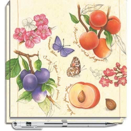NATURE'S CHARM NOTE BLOCK WITH PEN
