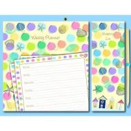 BY THE SEA MAGNETIC PLANNER SET