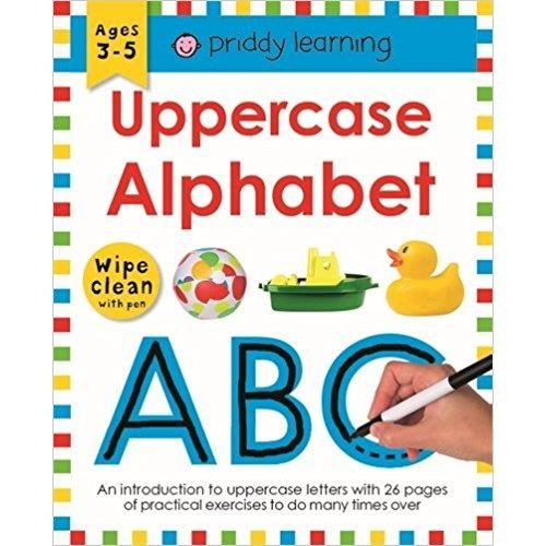Uppercase Alphabet (Wipe Clean Workbooks)