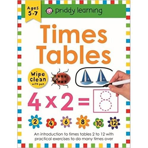 Times Table (Wipe Clean Workbooks)
