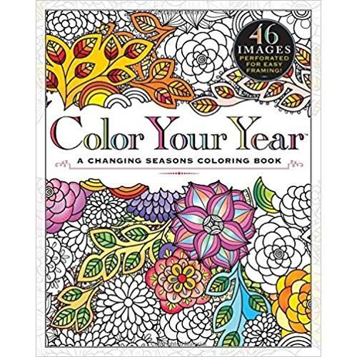 COLOR YOUR YEAR COLOURING